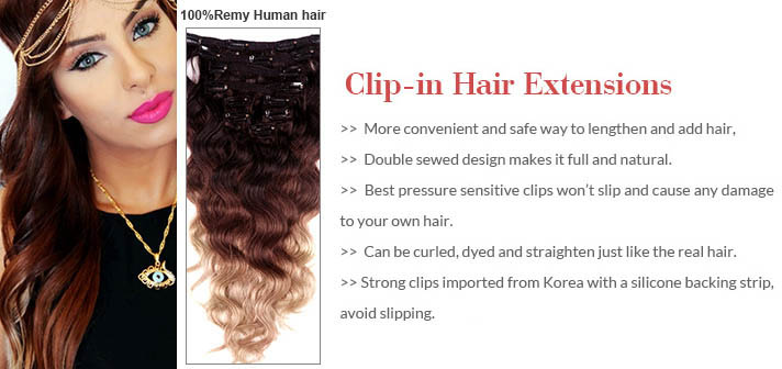 Tips on how to choose the best clip in hair extensions goodyardhair clip in hairextension pmusecretfo Images