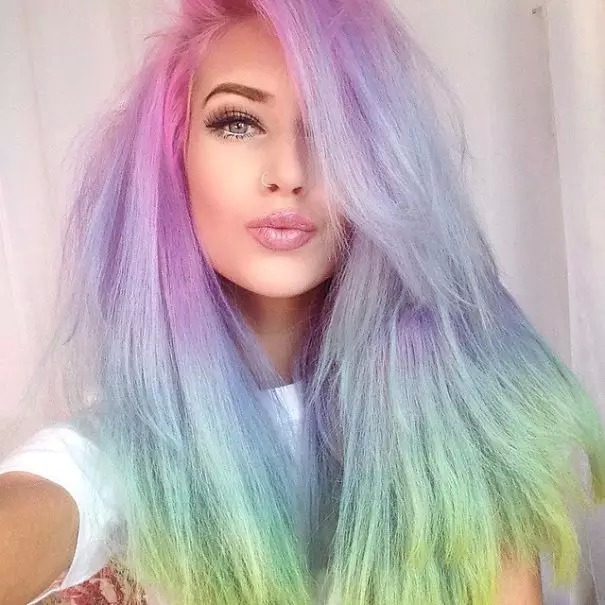 Ombre & Rainbow Color Hair Trend In This Spring and Summer ...