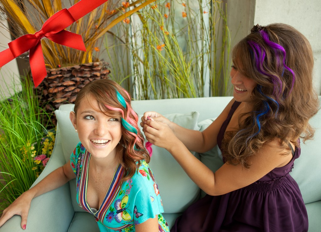 How To Wear Colorful Clip In Hair Extension Goodyardhair